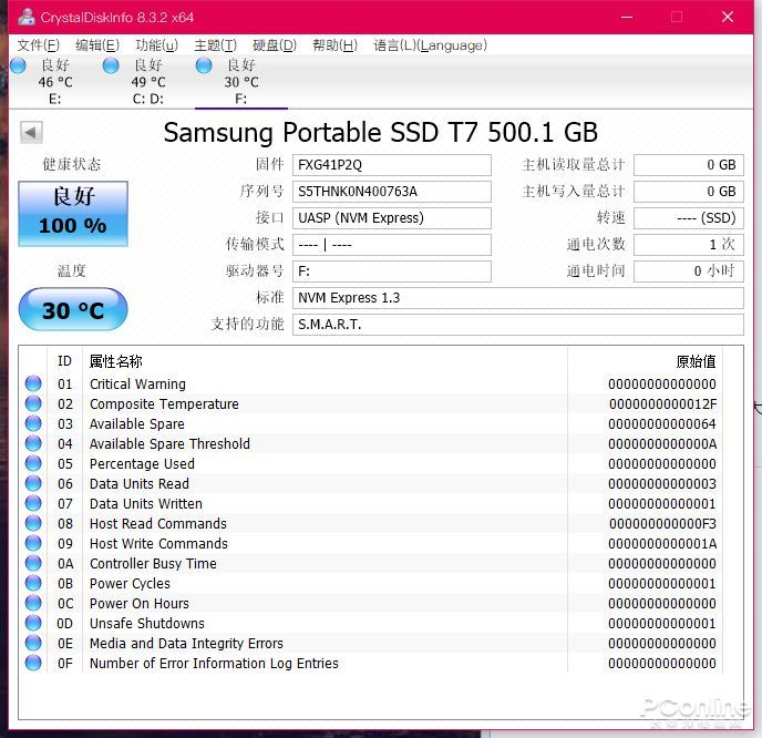 主打散热的PSSD 还拥有能跑满USB 3.2的速度?
