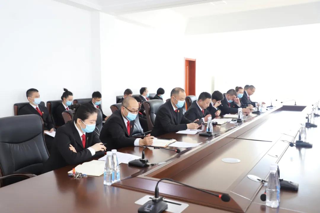 【教育整顿】尖山法院召开队伍教育整顿查纠整改环节座谈会