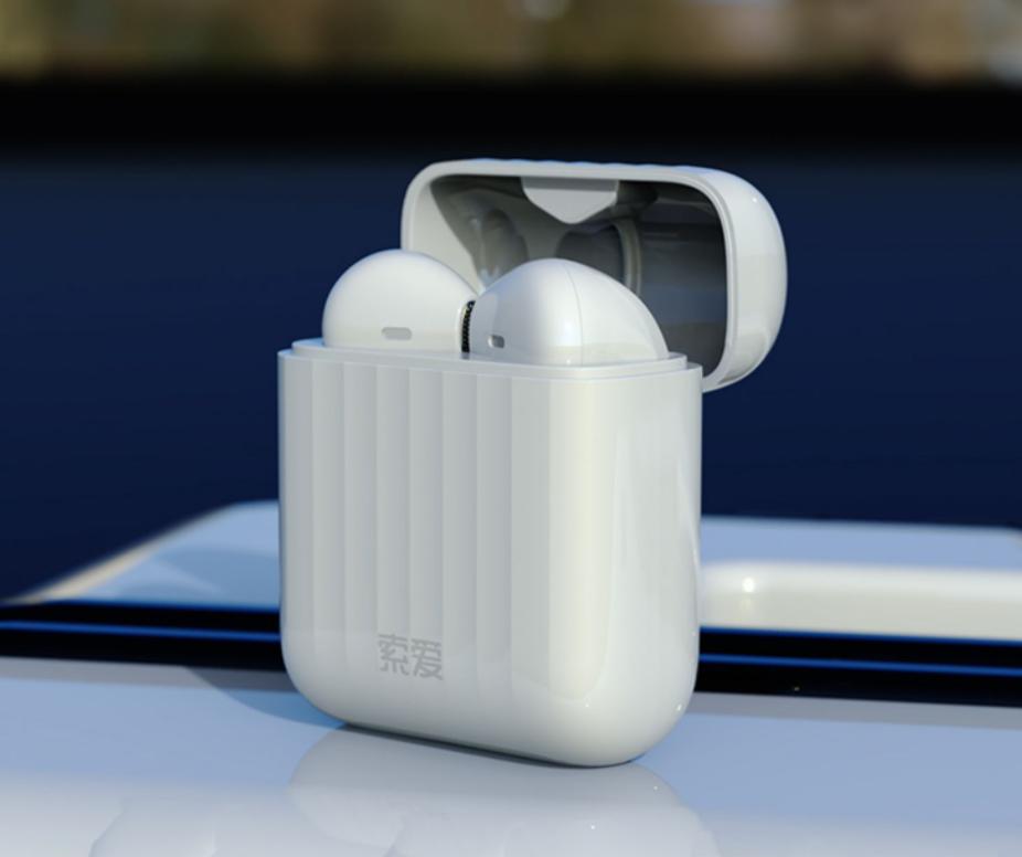 戴上这款索爱真无线蓝牙耳机,仿佛一下拥有了全世界