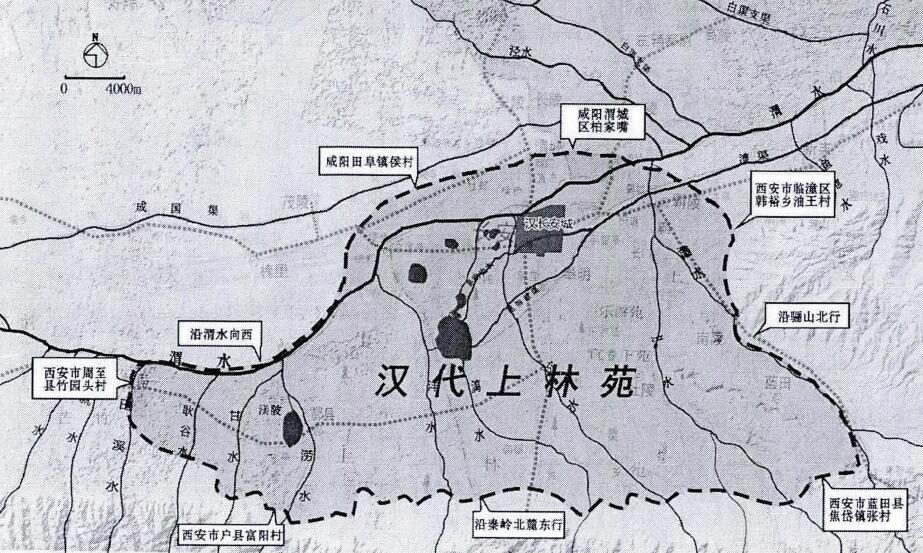 汉长安只限于城墙内?细说城郊区范围与城郊县邑