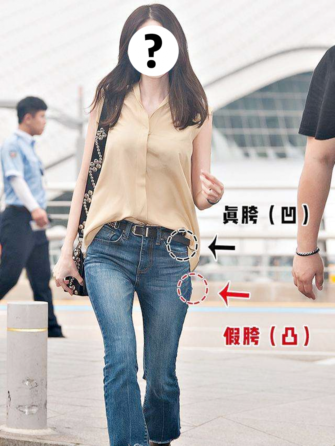 90斤和120斤的女生,冬天穿同一件衣服差距有多大?