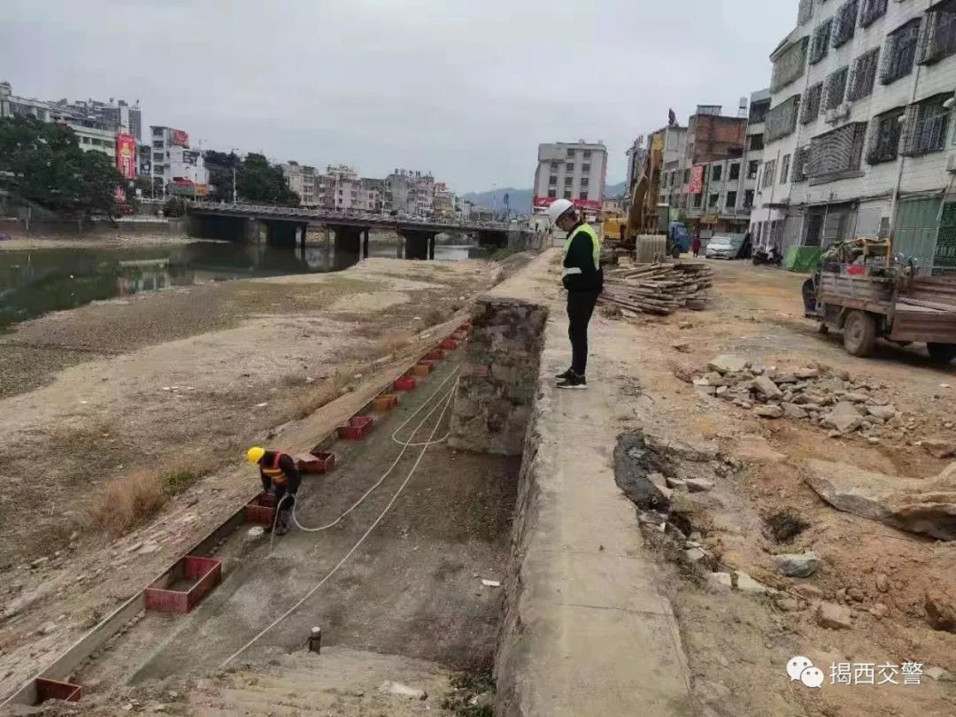揭西县城这两条路将施工,工期约7个月,过往车辆请注意