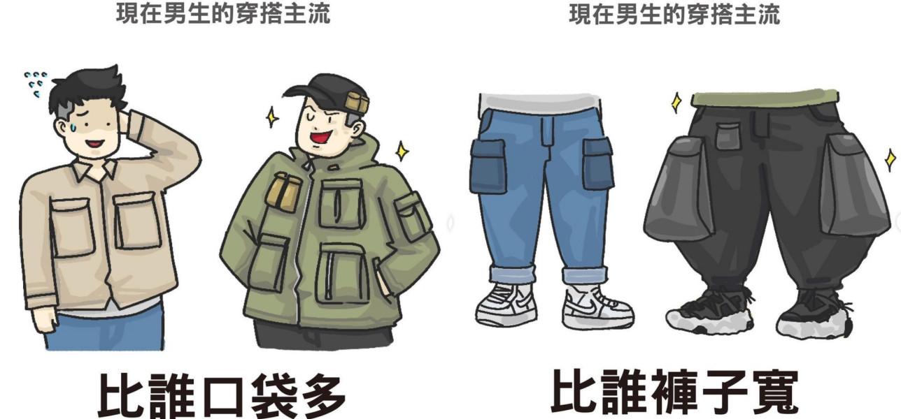 撞衫不可怕,怕的是对方颜值比你高!幽默插画画出现代流行好难懂