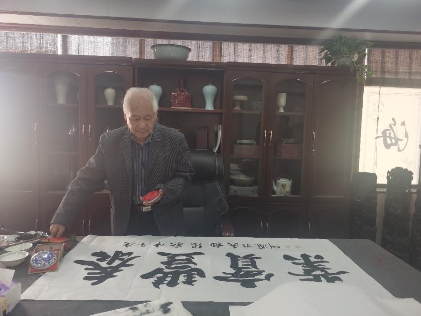 德艺双馨书画家张拯民艺术欣赏