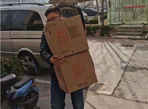 济南康诺喜来健医疗器械有限公司慰问房泽安惠民服务热线志愿者
