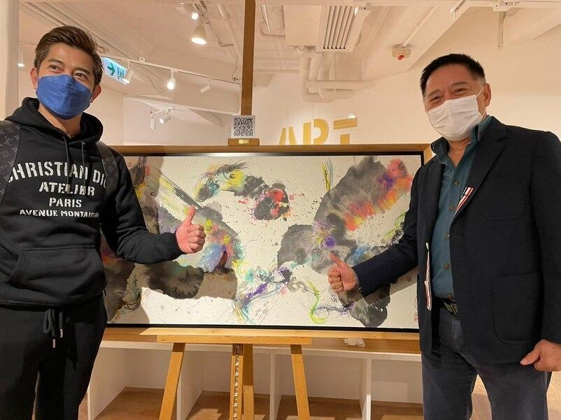 郭富城夫妇现身画展,两小时花费百万,方媛一身名牌却被嘲没气质