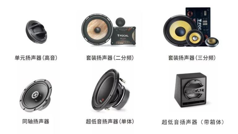 汽车音响改装从入门到精通(第十课):汽车扬声器解析及产品介绍
