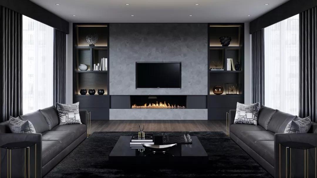 30款电视背景墙设计方案,省钱省材还精致,用10年都不俗