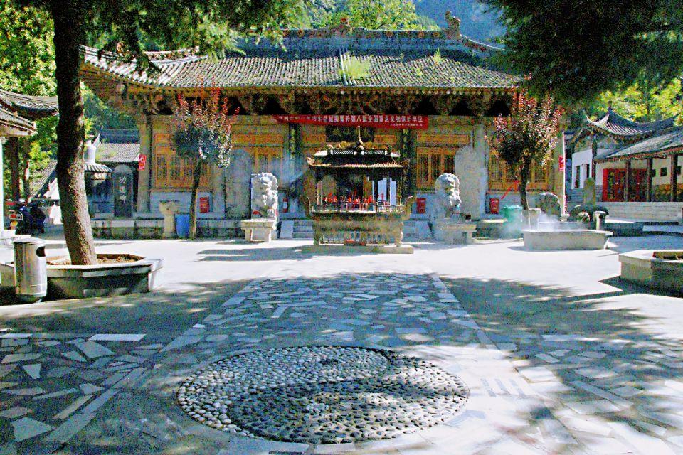 陕西这座宋代庙宇,500年7次重修,现在一到古会就有万人前往