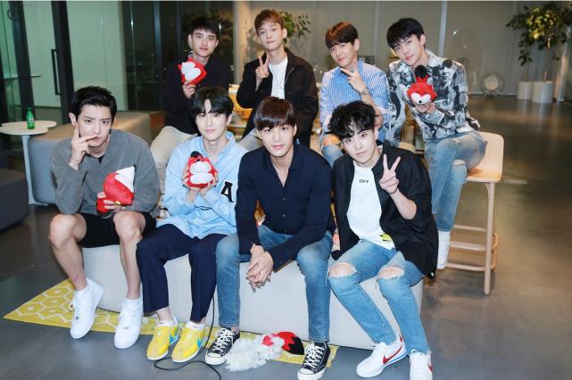 EXO成立快10年了,期待九人的10周年专辑