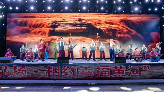 """黄河流域群众文化联展联演联讲共谱""""黄河大合唱""""新乐章"""