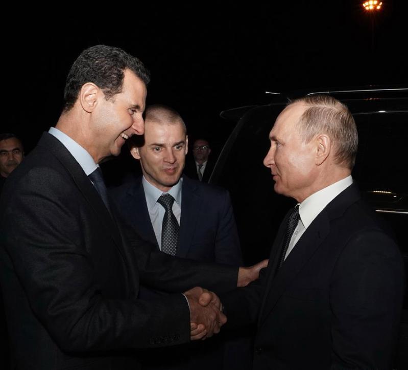 普京访叙利亚,安全起见设下各项安保,俄防长:惊险刺激堪比电影