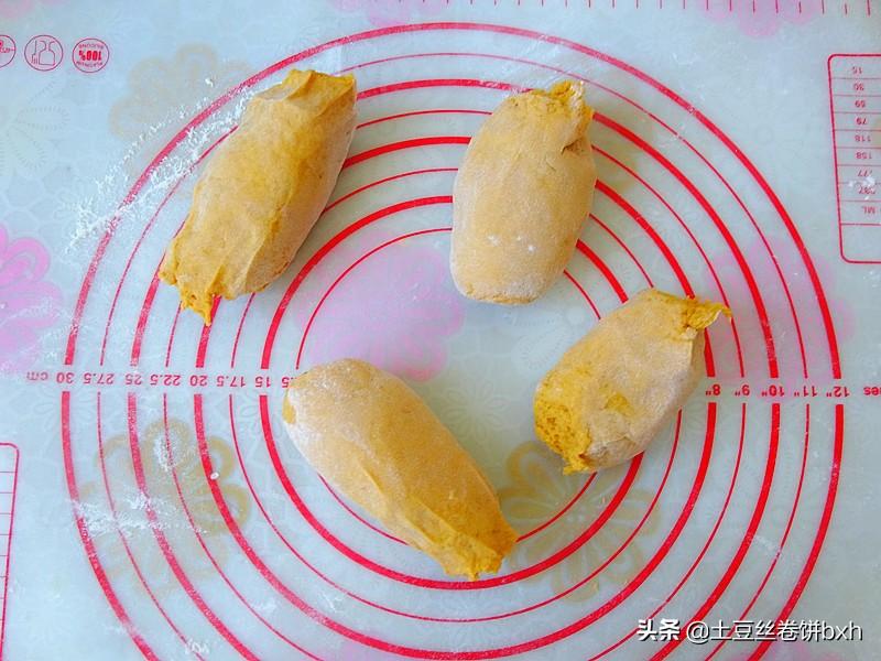 別再直接吃蒸紅薯了,用它來做餅,暄鬆多層好消化,越吃越愛