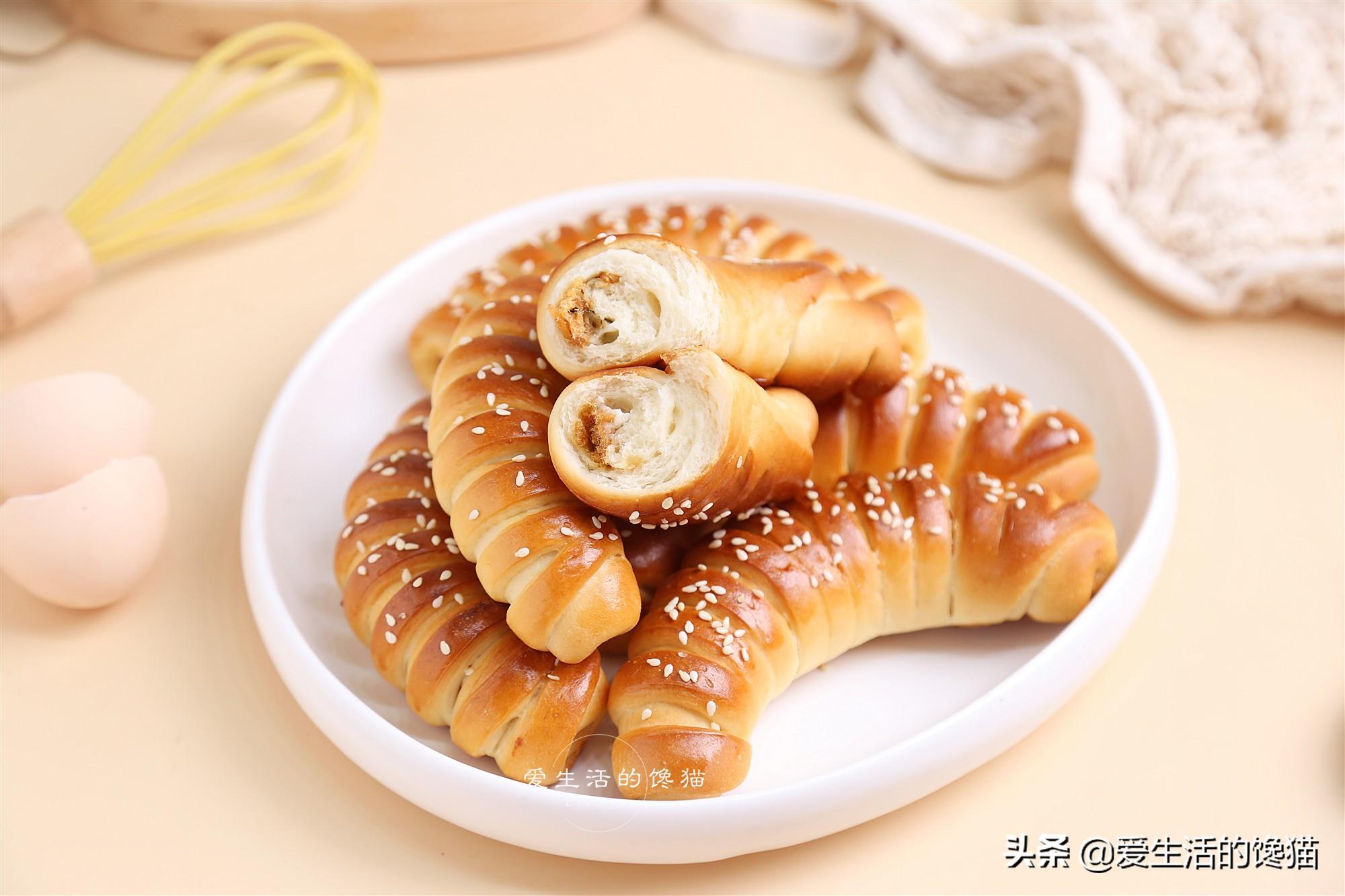 做麵包時,記住這個小訣竅,做出的個個都是軟胖子,絕不翻車