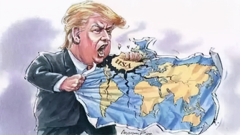 """美国总统又""""甩锅""""了!特朗普在联合国大会的""""七分钟的胡扯""""到底砸了谁的""""锅""""?"""