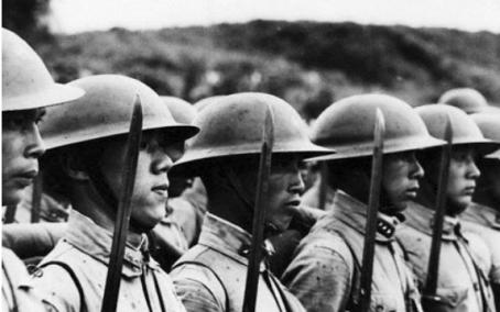 耻辱:十几个日本兵控制中国一个县城?