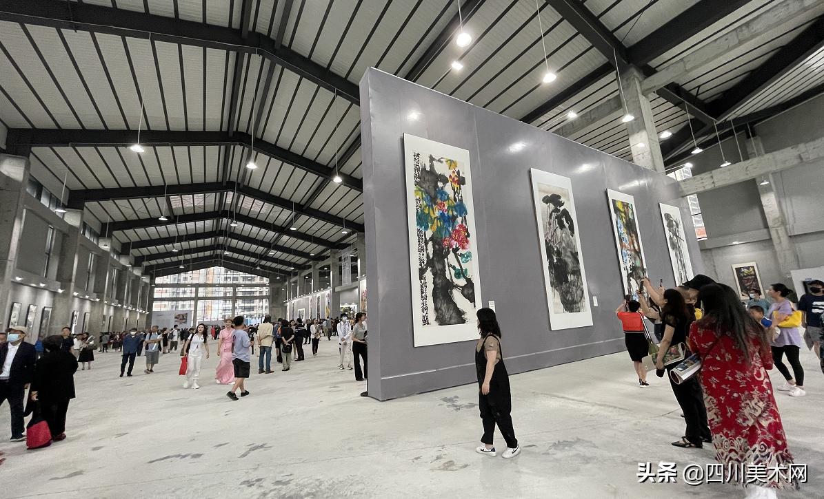 蔡寅坤书画大展在成都红仓•101艺术馆开幕