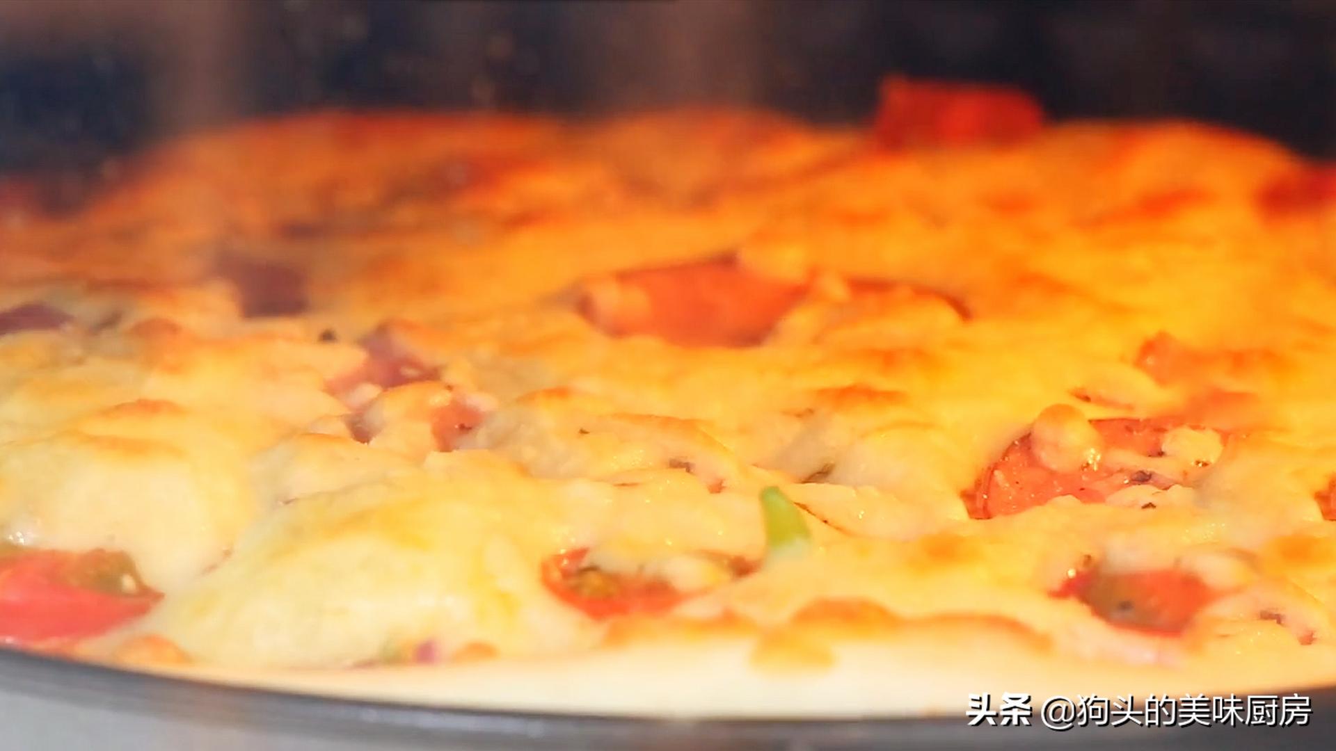 手把手教你在家做披萨,简单易学,绵软可口还拉丝,比买的还好吃 美食做法 第20张