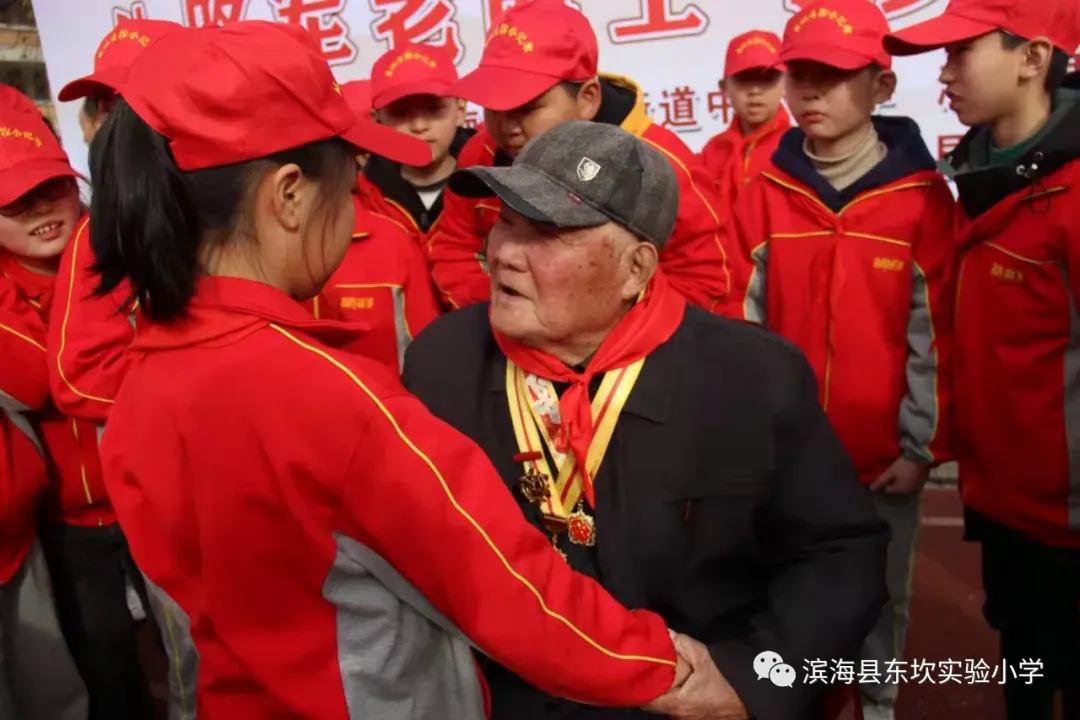 """江苏滨海县东坎街道中心小学开展""""童心向党迎百年"""""""