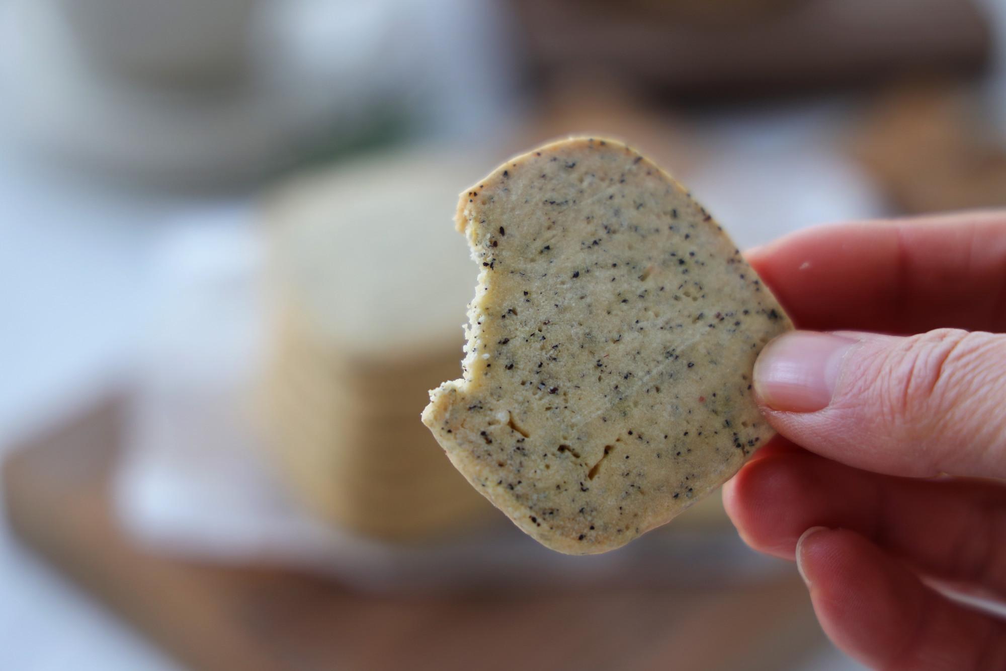 饞了好久的伯爵茶黃油餅乾,茶香濃郁,第一次吃就上癮,越吃越香
