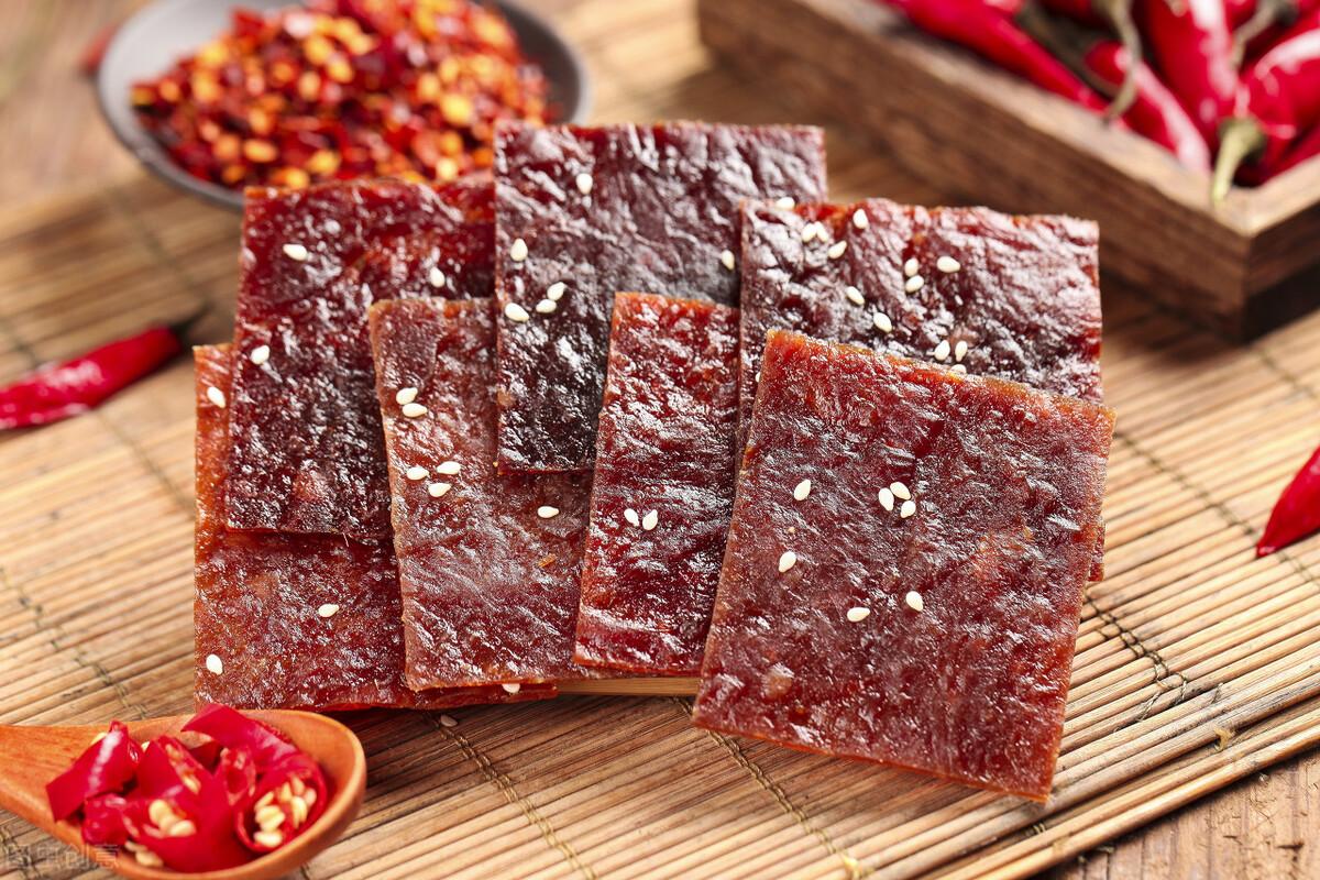 自制猪肉脯太简单,成本也很低,好吃不腻营养高,夏天多给孩子吃 美食做法 第7张