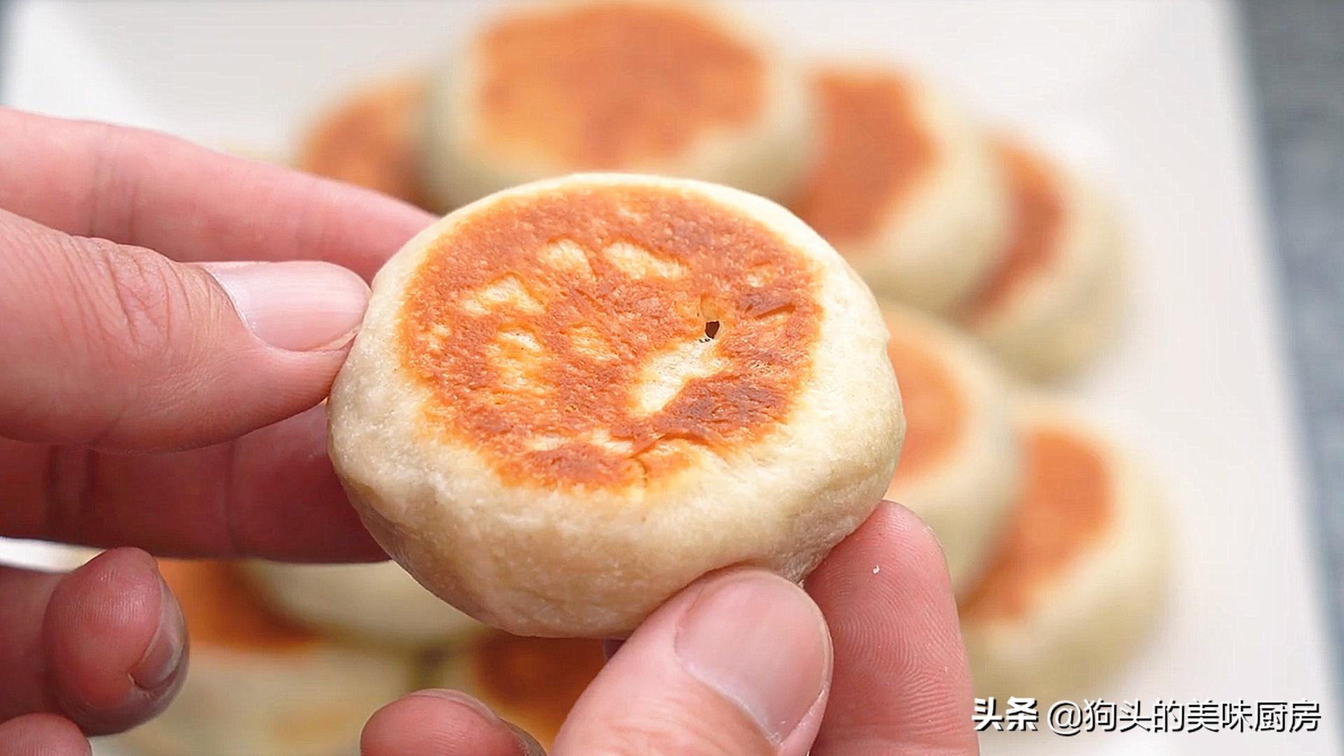 不做酥皮不用烤箱就能做的绿豆饼,清甜不油腻,比外面买的还好吃 美食做法 第2张