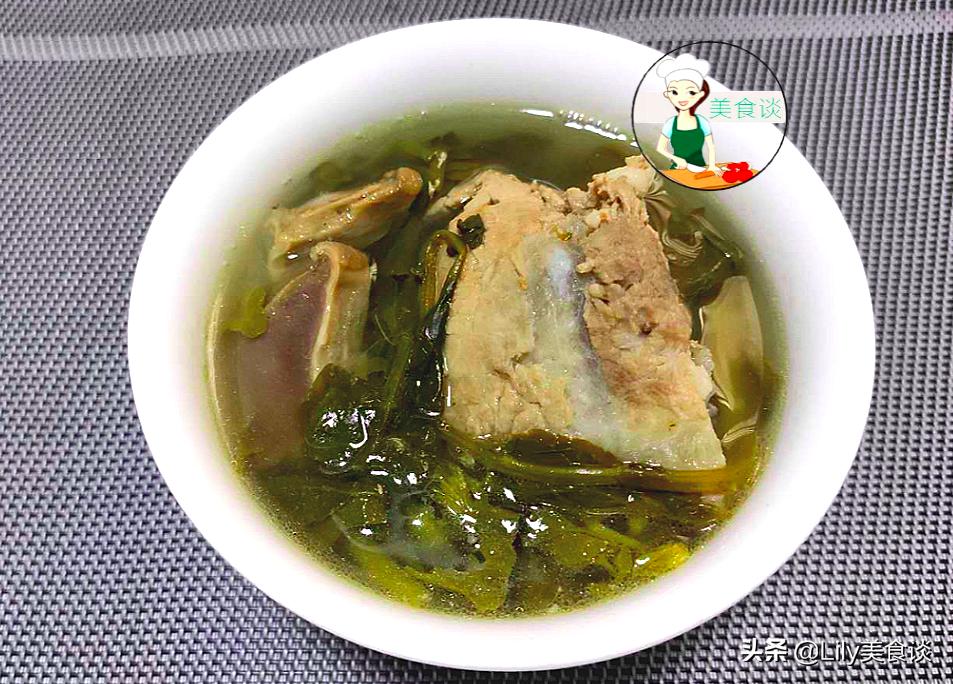 秋天要多喝湯,這蔬菜煲湯清香又營養,甘甜去燥,應季而食身體棒