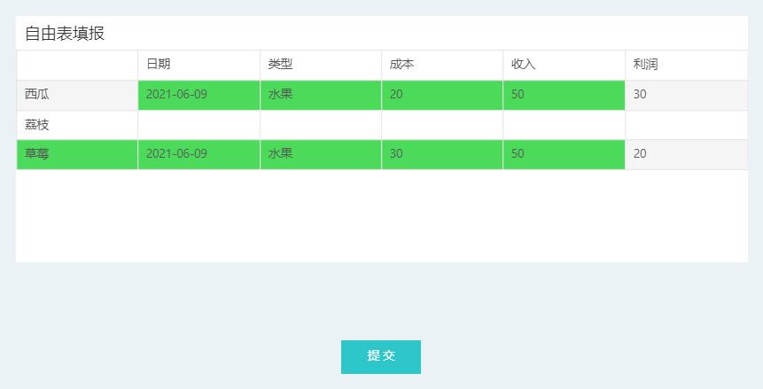 遇到填报无计可施?一文讲透自由表填报,数据分析效率直线提升