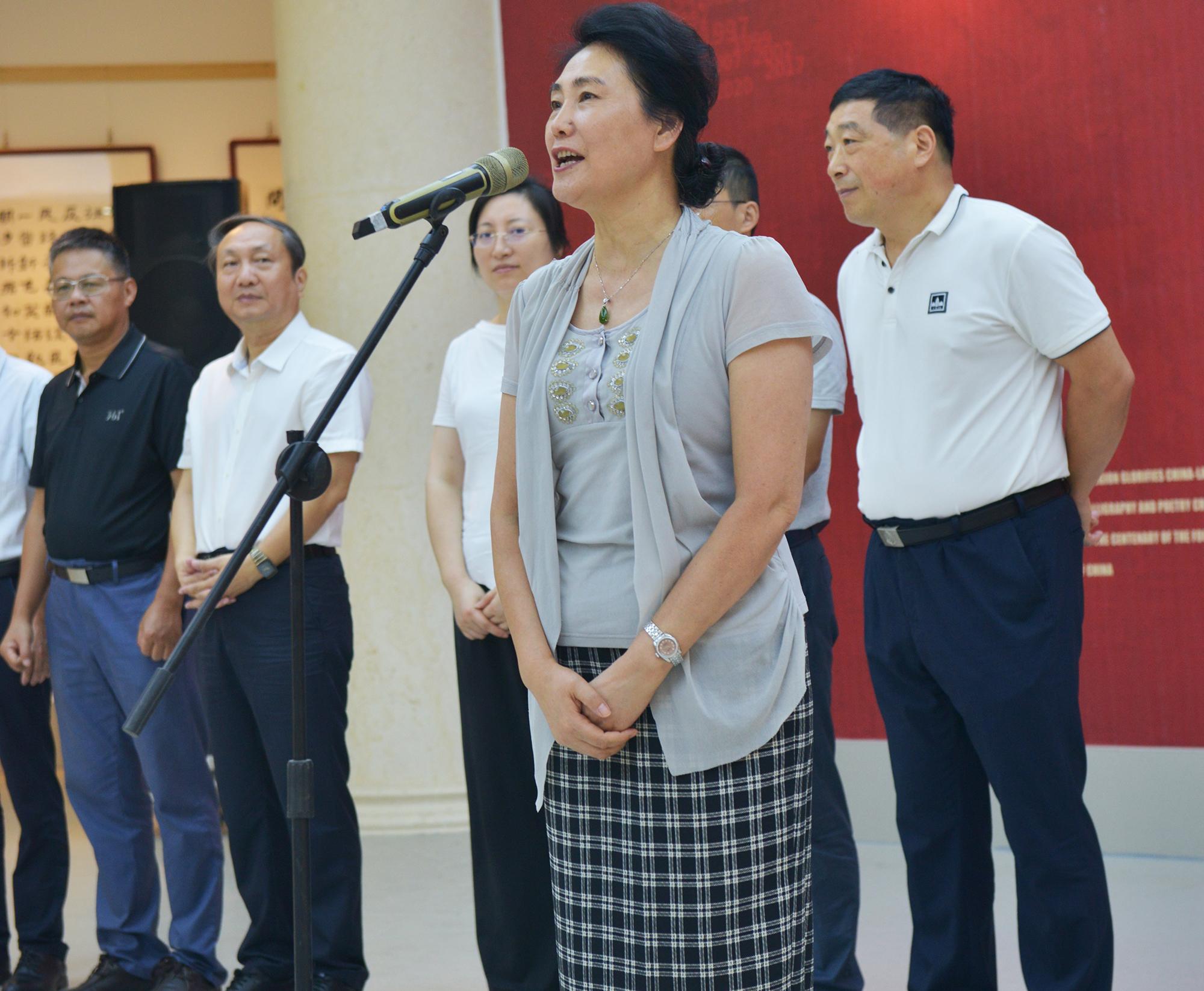 百年赣鄱耀中华 江西省大型美术书法诗词创作展开展