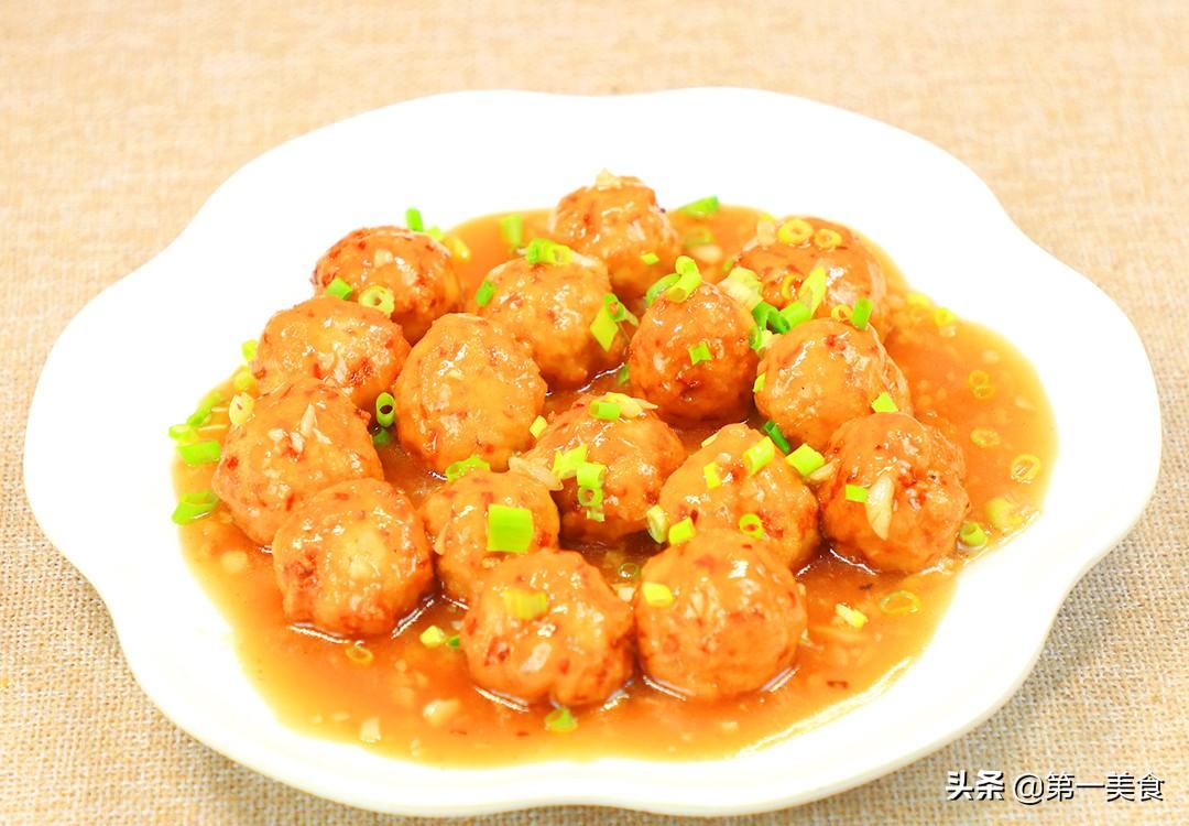 【豆腐丸子】做法步骤图 金黄软糯 比饭店的还好吃