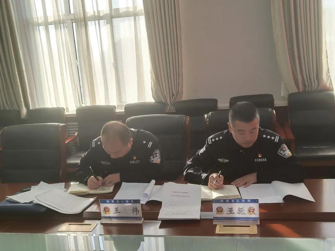 榆林市公安局扫黑除恶督导组王振权一行来绥督导检查扫黑除恶工作