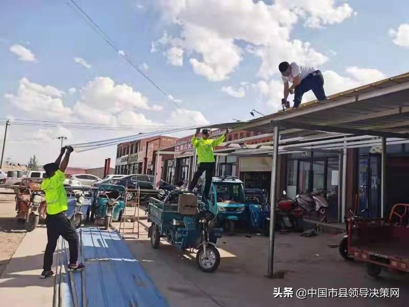 宁夏吴忠市红寺堡区综合执法局大力整治龙源市场环境问题