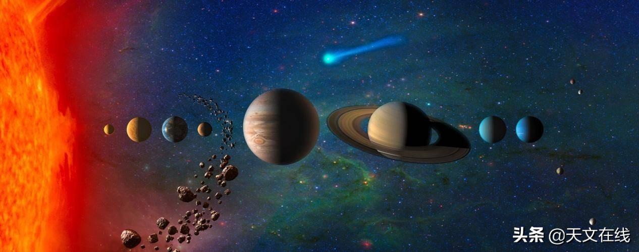 人们努力探索,超越太阳系之外,美丽而神秘的宇宙深处