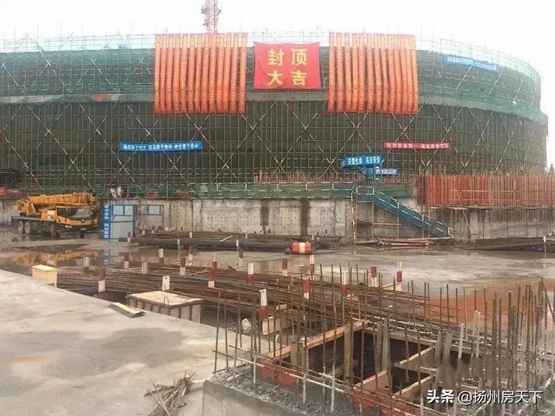 6年了!扬州这个重大工程终于封顶!未来即将腾飞