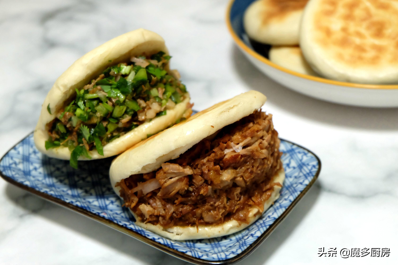 肉夹馍的家常做法,烙馍炖肉的手艺练好了,上街摆摊肯定受欢迎 美食做法 第1张
