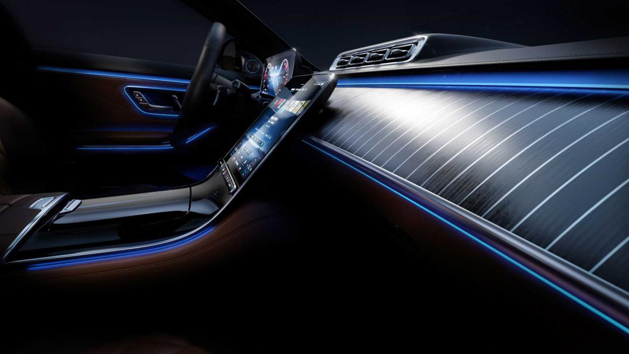 新一代奔驰S级发布在即,黑科技装备解析