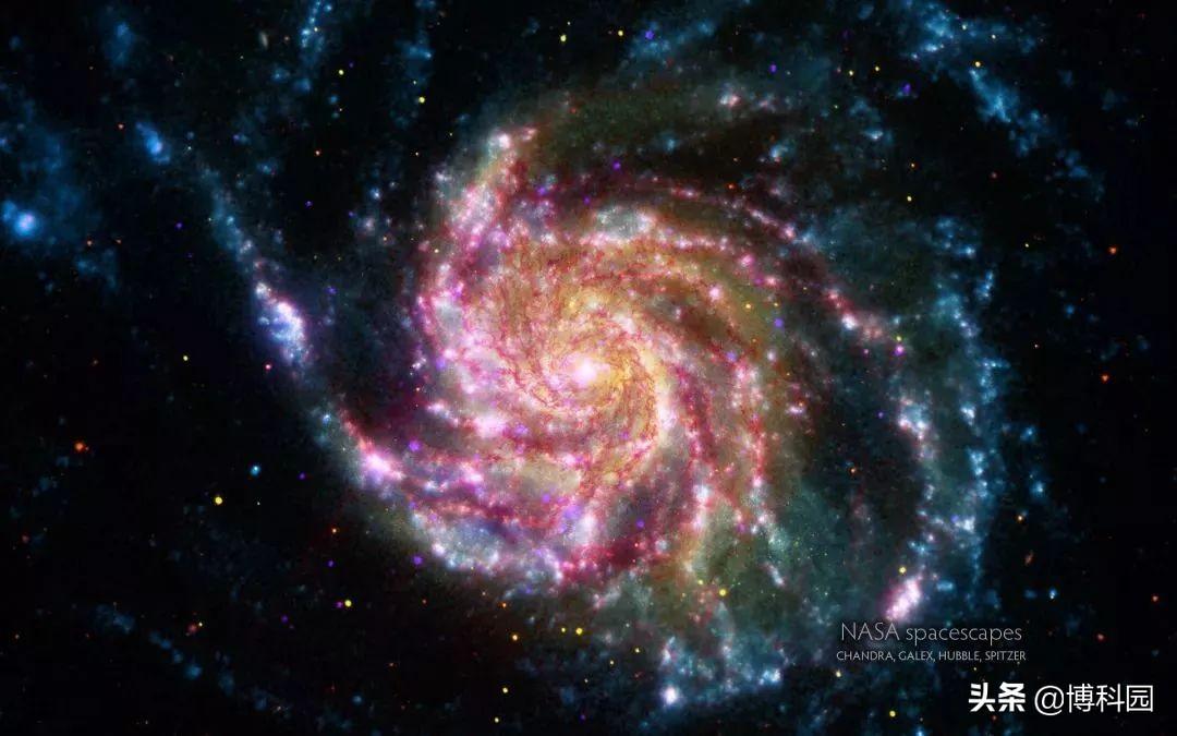2.6亿光年外,发现神秘氢气环,直径38万光年,竟比银河系还大