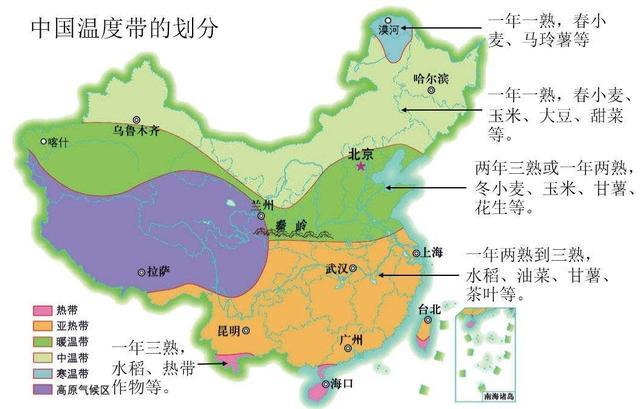 高中地理――每日讲1题(三大平原、我国的河流与湖泊、热量)
