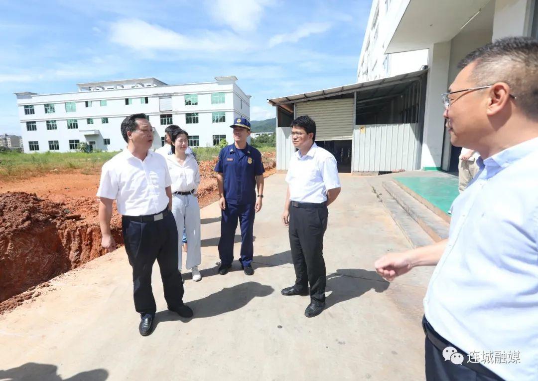 连城县领导调研督导房屋建筑结构安全、消防安全和生态环保工作