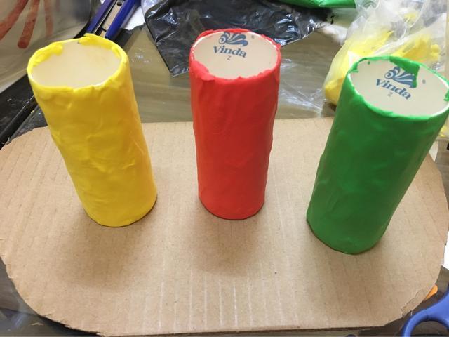 幼儿园纸黏土手工制作