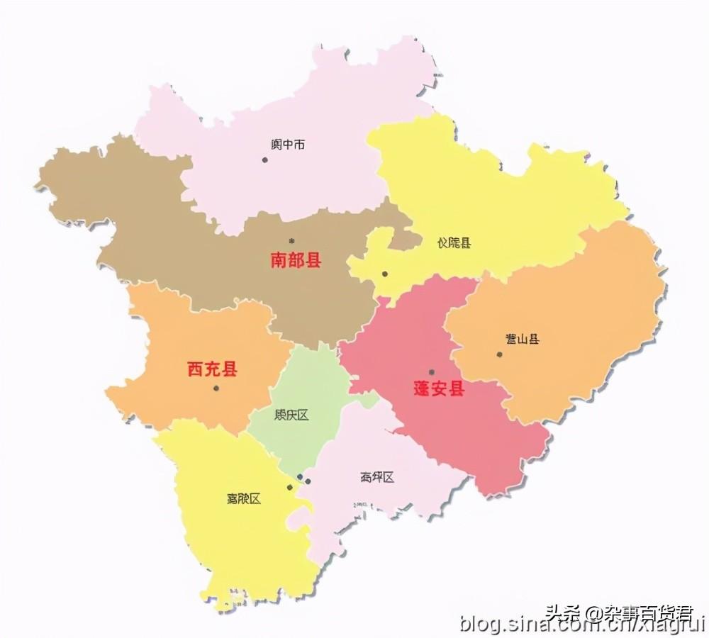 南充东大门—营山县介绍