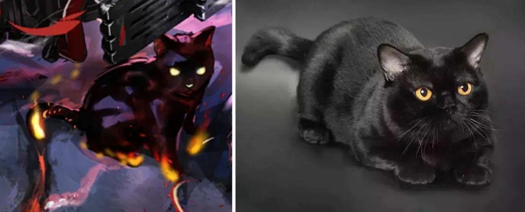 """明日方舟:""""煌""""原型和元素考据,黑猫、链锯与火焰"""