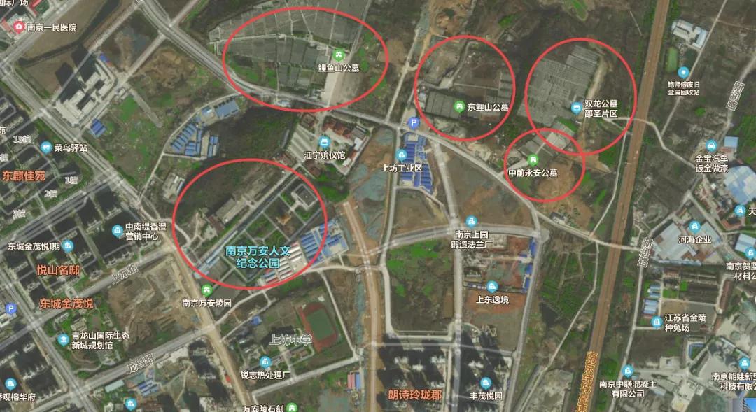 """殡仪馆关停,公墓仍在,青龙山生态新城的业主""""笑早了""""?"""