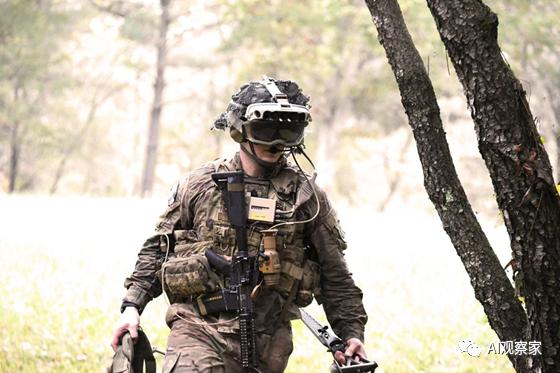微软军事化AR头显,赢得美国军方价值210亿美元设备合同