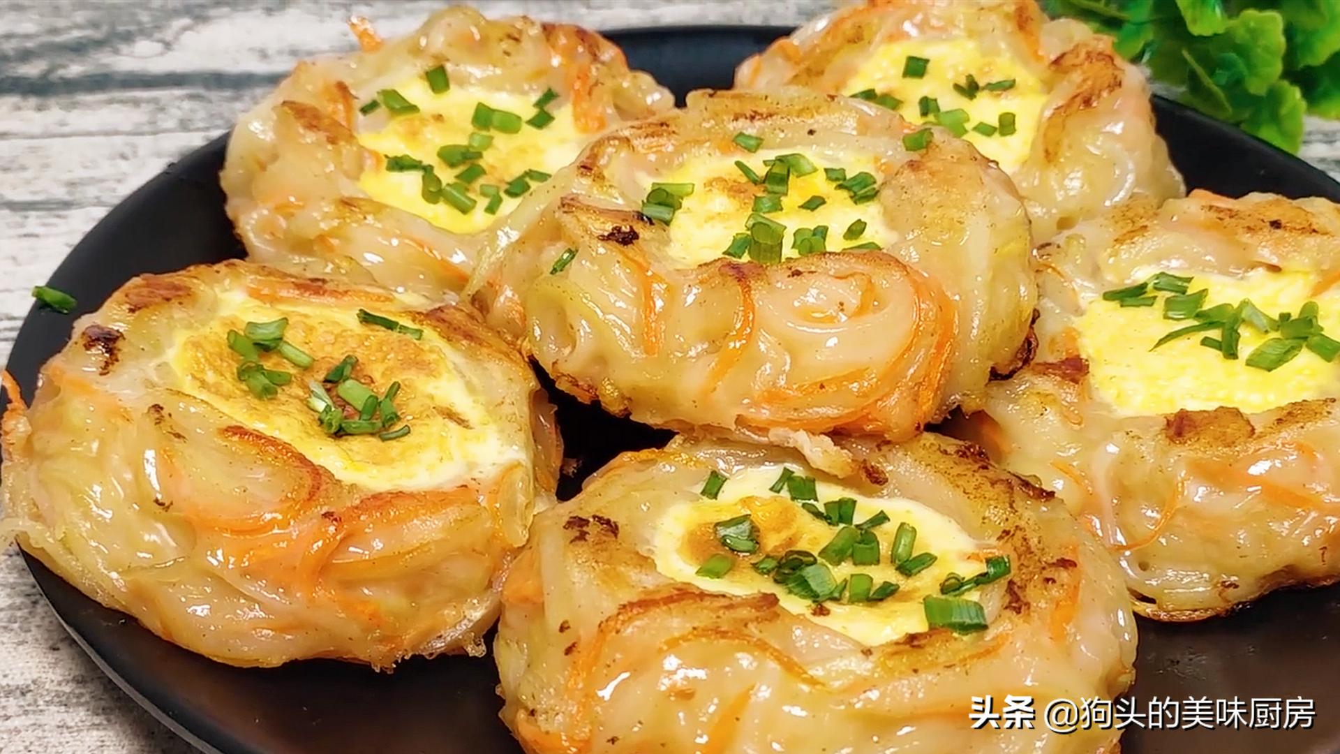5个土豆,2个鸡蛋,教你没有吃过的做法,比肉还香,上桌就被扫光 美食做法 第1张