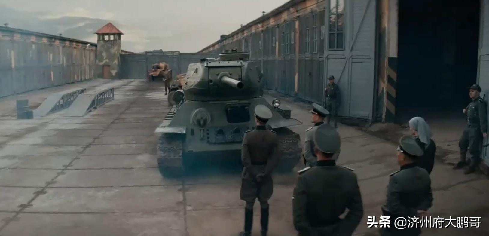电影《猎杀T34》:二战苏德经典坦克车,虎式与T34震撼对决