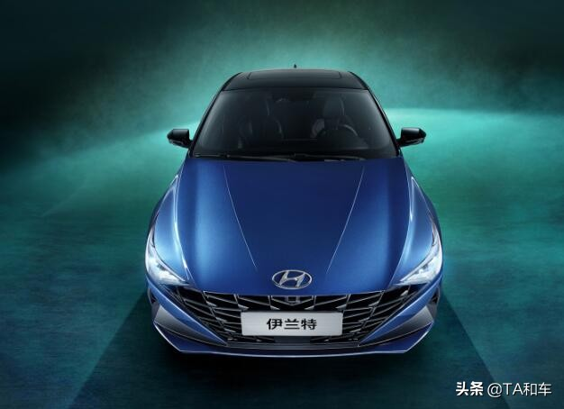 外观造型大胆,内饰科技前卫,全新伊兰特将在北京车展上亮相