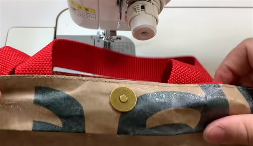 日本手工牛人,把一次性纸袋做成手提包,看完想学缝纫了