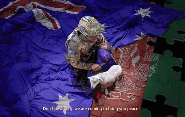 没人性!澳大利亚士兵用