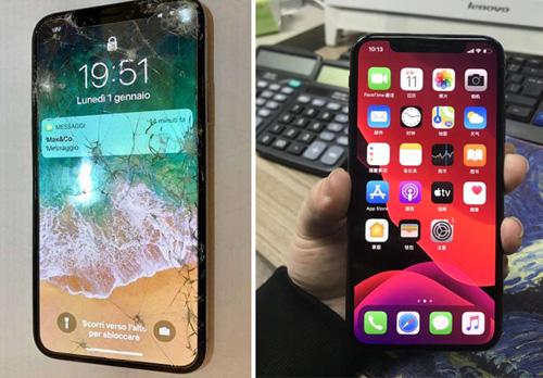 iphonex外屏碎了多少钱(苹果x千万别换外屏)